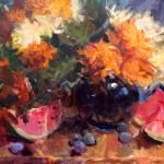 Ann Marie Oborn_ Watermelon_20 x 24 oil $2,100