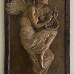 Ben Hammond_ Angel of Music_ Bronze-16.5 x 9 $1,750