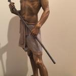 Ben Hammond_ Joseph The Overseer_ Bronze_ 20 x 10 x 5 _ $3,750