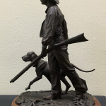 Blair Buswell_Going Hunting_18 x 12 x 9 bronze_$4,500