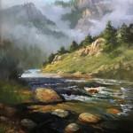 Glen Hopkinson_ Logan Canyon_48 x 36 oil $18,000
