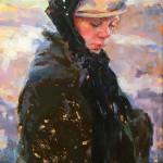 Julie Rogers_A Mormon Boy_26 x 16 oil_$3,800