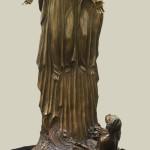 Kraig Varner_ First Vision_ 35x19x19_bronze $11,500
