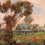 Larry Christensen_There is Beauty All Around_ 15x19_oil $1,300