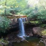 Linda Curley Christensen_Cucumber Falls_24 x 36 oil_$6,100 Oil