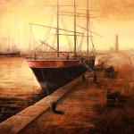the Horizon 36 x 36 oil by Simon Winegar $8500